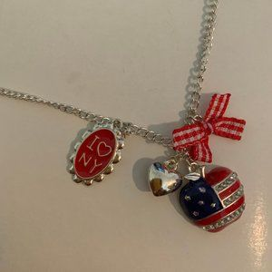 New York themed necklace